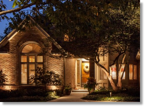 Professional Landscape Lighting Installation | Nisat Electric | Collin County, TX