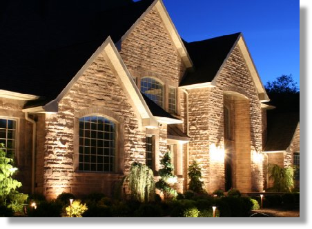 Landscape Lighting Installation - Nisat Electric - McKinney, TX